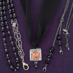 🎃JK Halloween Necklace & Charm Set🎃